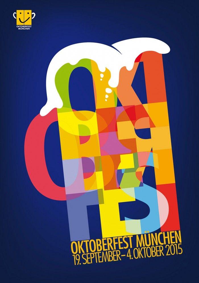 Das Plakat zum Oktoberfest 2015