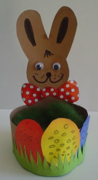 Ostern - Eier Körbchen