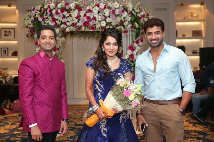 Arun Vijay at Vj Ramya Wedding Reception