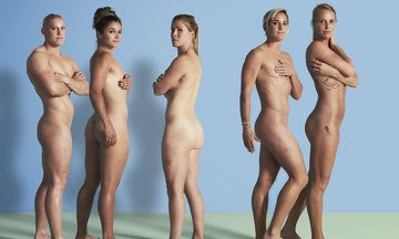 Female Brit Rugby team discusses their body image.