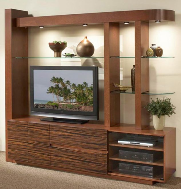 Home Decor: 22 Tv Stands With Storage Cabinet Design Ideas