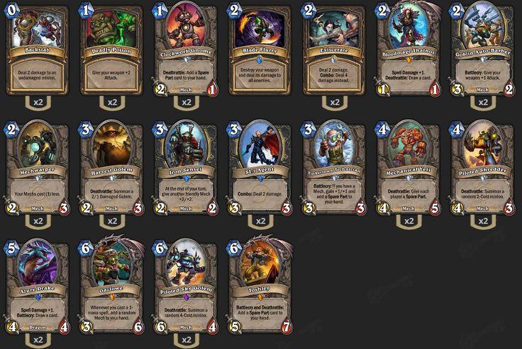 Spark's Gazlowe & Friends Tempo Rogue Deck Guide - Hearthstone: Heroes of Warcraft - hub - 2P.com