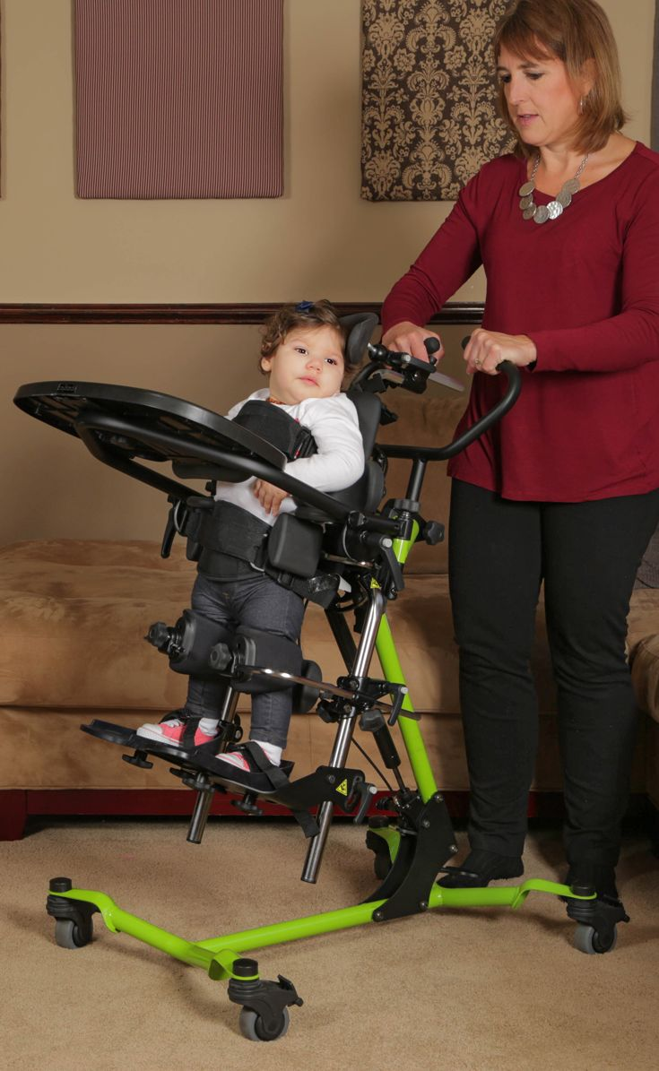 EasyStand Zing MPS goes from fully supine, to upright, to prone in one motion