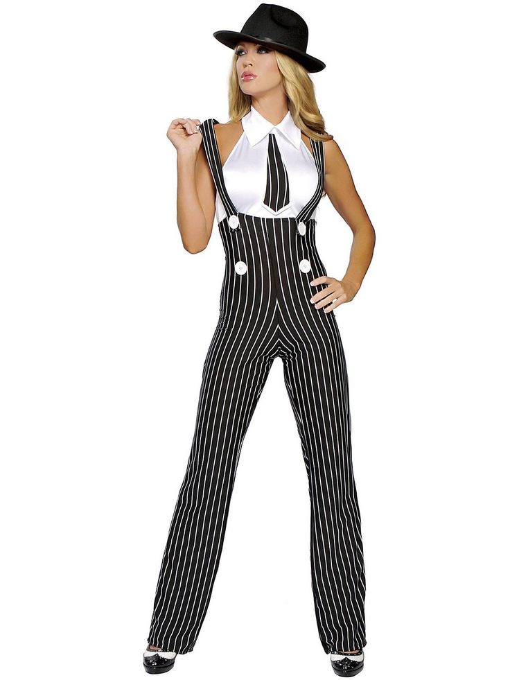 Women's Sexy Gangsta Mama Costume - Sexy Gangsters Halloween Costumes