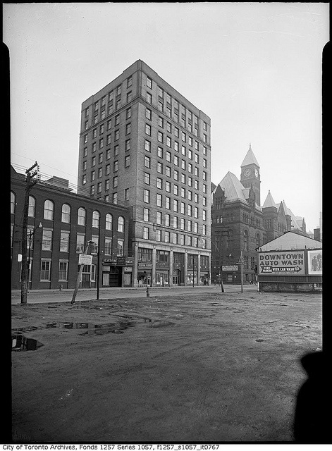 City Hall Annex, Toronto, Ontario, c. 1940. #Toronto #History #Vintage