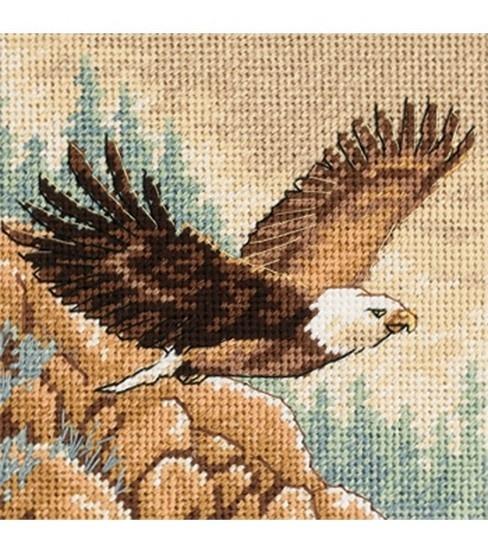 Cross stitch eagle