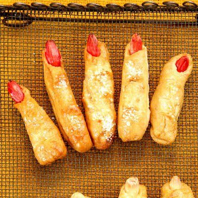 Freaky fingers Halloween recipe from Delish with my top 10 Halloween movies. Find out what made the list. Go on!