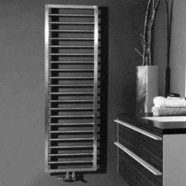 полотенцесушители стальные хромированные дизайнерские полотенцесушители водяные Zehnder Quaro Inox Артикул: QAI-100-030 дизайнерские полотенцесушители водяные