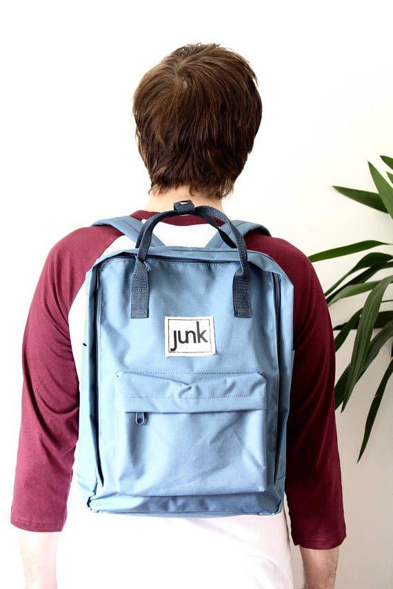 Junk Boardwear UNISEX urban rucksack in Airforce Blue