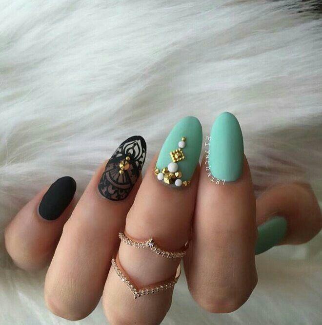 Mejores 7 imágenes de Nails en Pinterest | Uñas redondas, Uñas ...