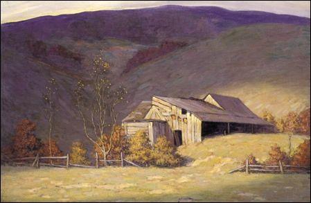 Lawren harris-Group of Seven- Deserted barns Laurentians