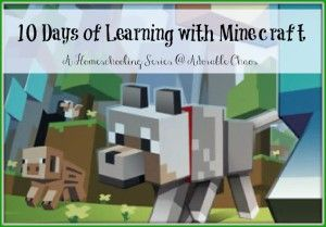 minecraft learning, minecraft homeschool