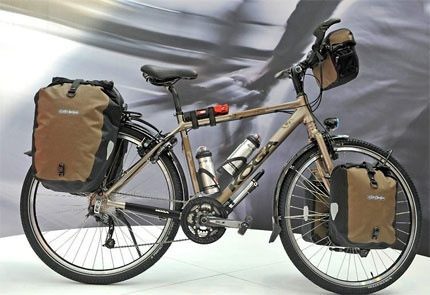 Touring bike Koga world traveller with 29 inch wheels - For more great pics, follow www.bikeengines.com