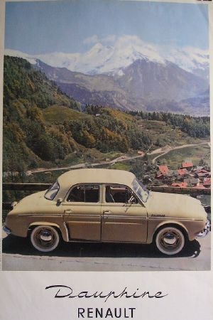Old French car in the Alps adv                                                                                                                                                                                 Plus