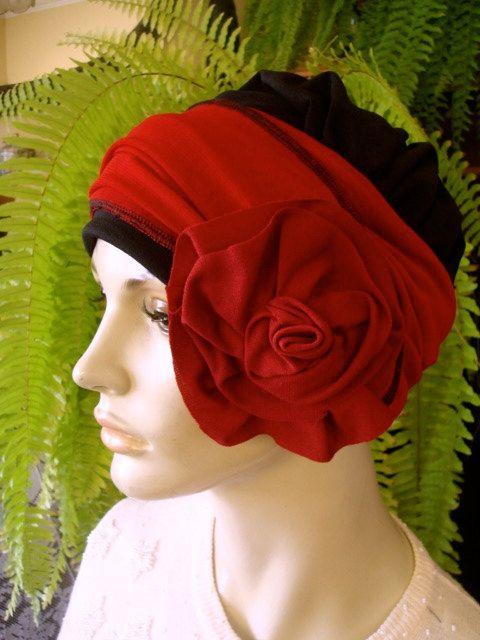 chemo hat chemo headwrap chemo gift chemo by GypsyLoveHeadbands