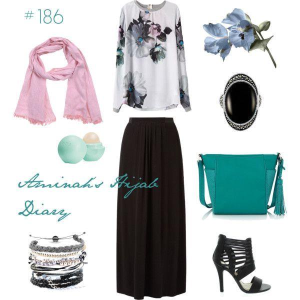 Hijab Fashion 2016/2017: Sélection de looks tendances spécial voilées Look Descreption Aminah´s Hijab Diary #hijab #muslimah #modest #fashion #style #look