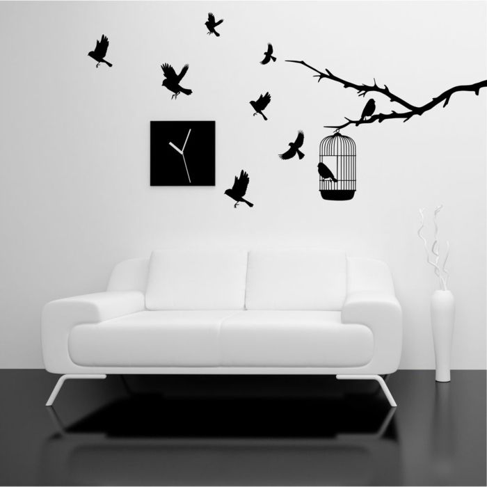 les 25 meilleures id es de la cat gorie pochoir mural sur. Black Bedroom Furniture Sets. Home Design Ideas