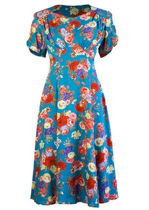 40s Tea Dress - High Tea. I just love this dress have worn it the entire summer and haven gotten so many comments