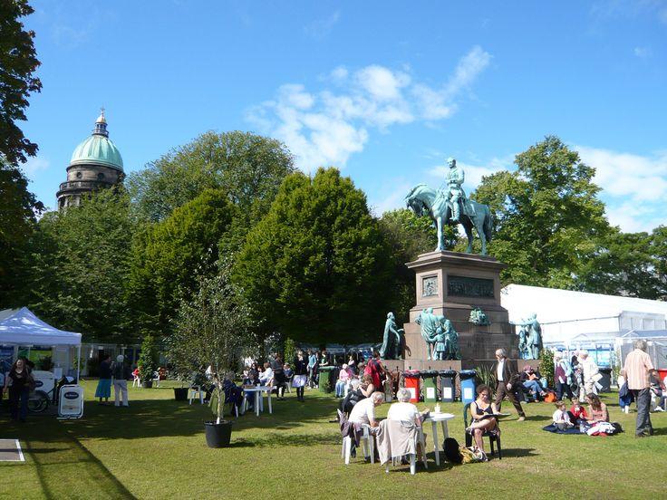 Edinburgh Book Festival.  I must go here!