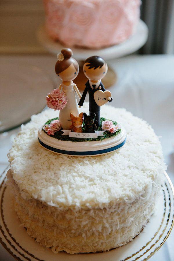 Personalized wedding cake toppers    #aislesociety #wedding #weddingphotos #caketopper #cake
