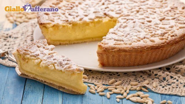 Torta della Nonna ('grandmothers pie'). Yummy italian dessert!