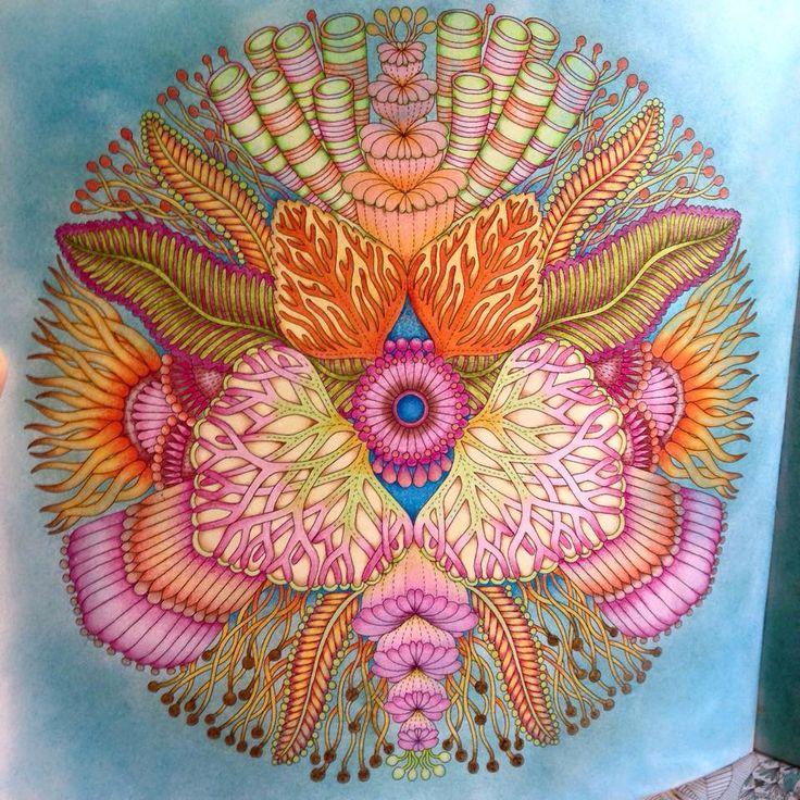 Millie Marotta's Tropical wonderland Muji colorpencils