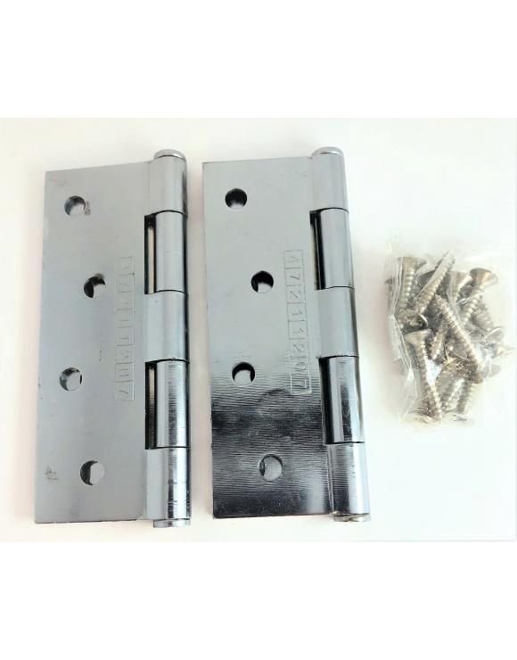 Button Tip Hinge Fd30 Ce7 Certified 100mm Select Finish Door Furniture Letter Plate Locker Storage