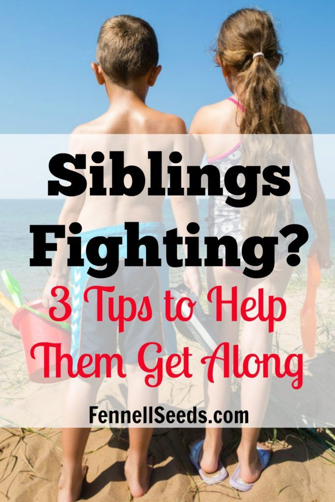 Siblings Fighting 3 Tips To Help Them Get Along Sibling Fighting Good Parenting Parenting Advice