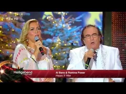 Al Bano & Romina Power Happy X-Mas (War is Over) Carmen Nebel HD - YouTube