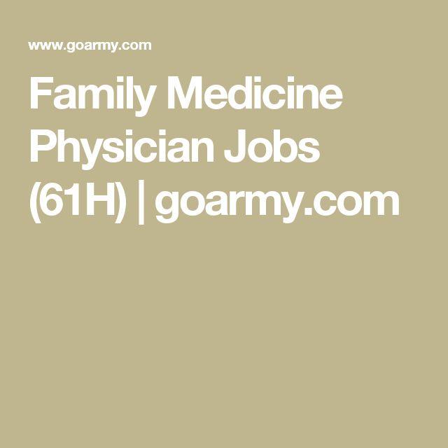 Family Medicine Physician Jobs (61H) | goarmy.com