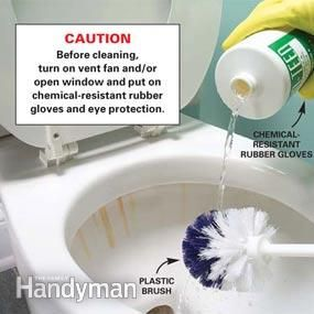 Home Remedies For Cleaning Hard Water Stains In Toilets