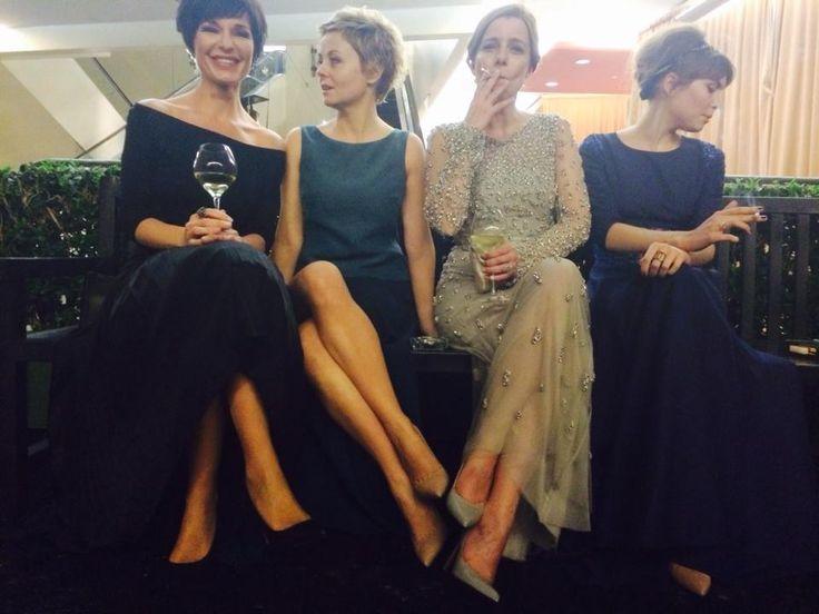 Agata Kulesza, Agata Trzebuchowska, Aneta Kopacz, Urszula Żal Oscars 2015
