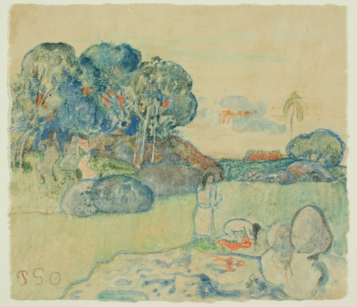 research paper on paul gauguin