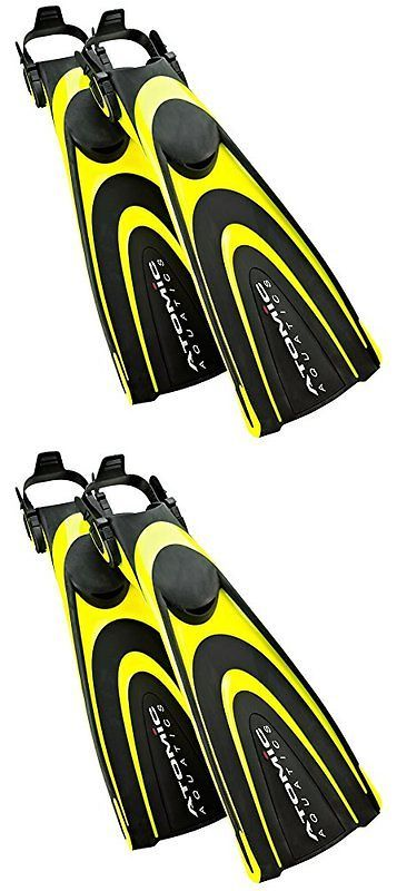 Fins 16054: Atomic Aquatics Blade Fin For Scuba Diving And Snorkeling Fin, Medium, Yellow -> BUY IT NOW ONLY: $199.69 on eBay!