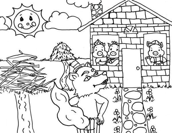 25+ Melhores Ideias De Desenho Tres Porquinhos No