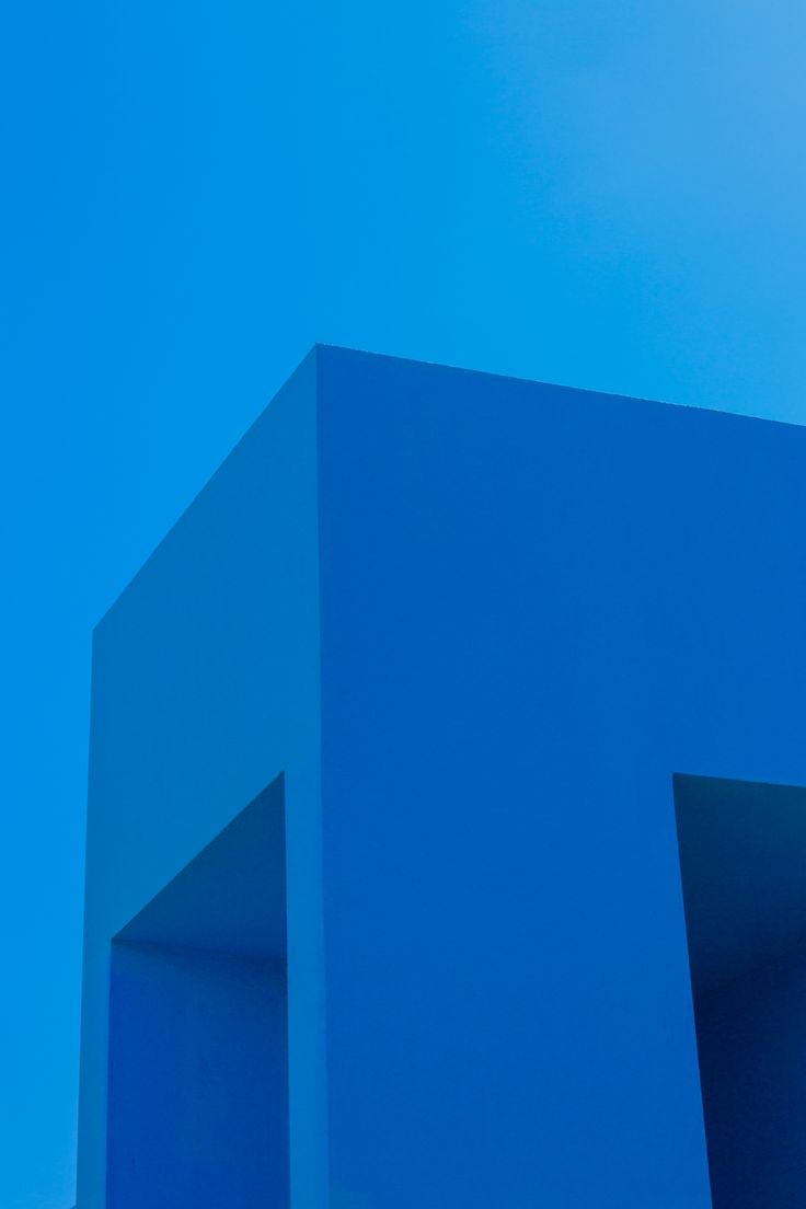 Blue Building And Sky