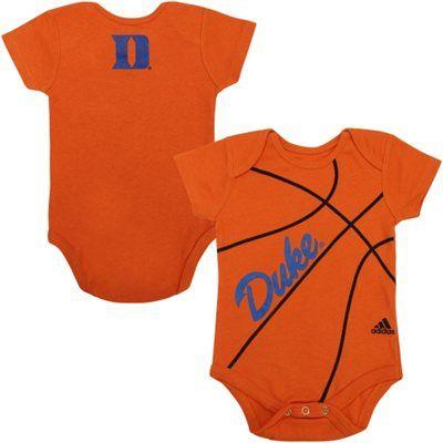 Duke Blue Devils Infant Fan-Atic Basketball Creeper – Orange