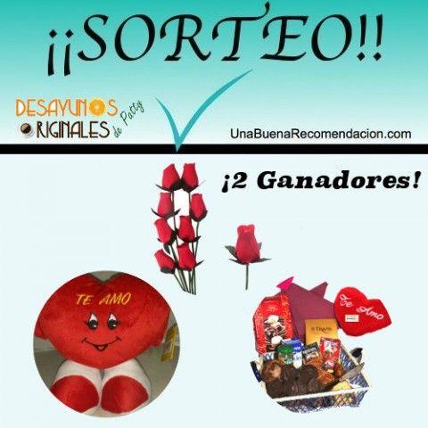SORTEO SAN VALENTÍN: 2 LOTES PATTY DESAYUNOS ORGINALES