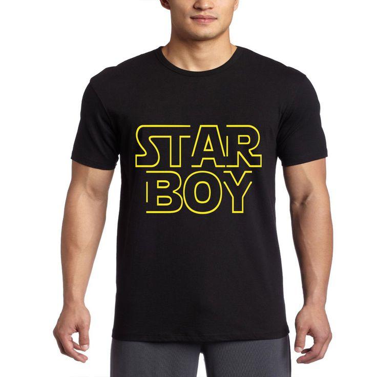 Star Boy,Weekends Super comfortable, super cool, 100% T-Shirt #BasicTee