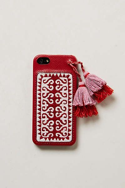 Anthropologie - Embroidered iPhone 5 Case