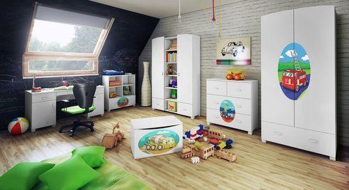 Meble w pokoju dziecięcym - Aranżacje wnętrz - Pokoje - Wnętrza - budnet.pl