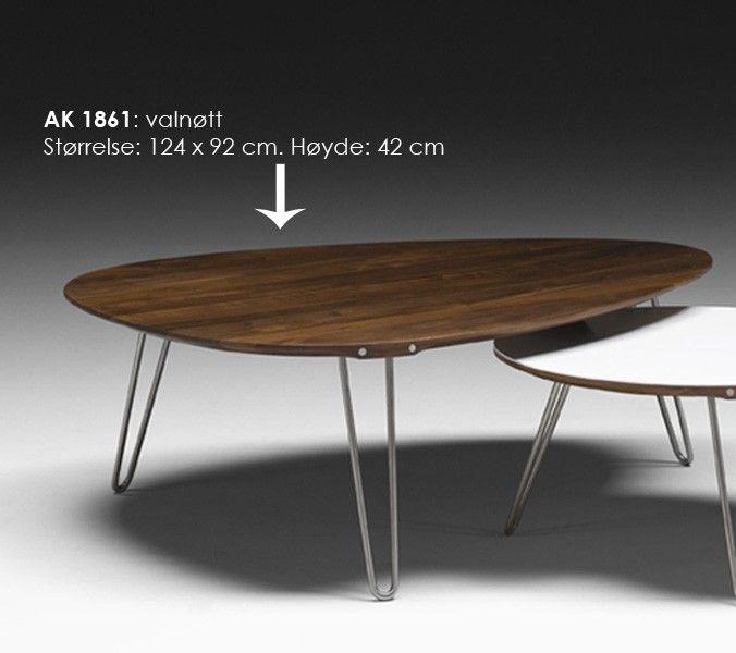 Naver sofabord AK 1800 serien