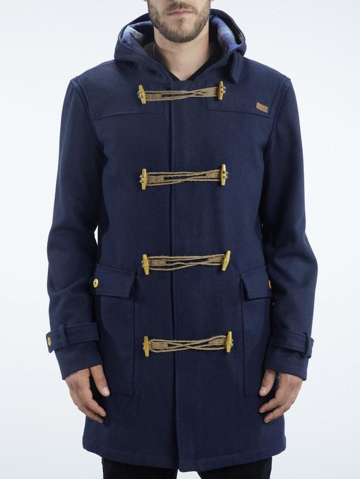 Makian miesten takki on makee