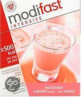 Modifast Aardbei - Milkshake - Drinkmaaltijd - 9 stuks  Modifast Intensive is een dagvoedingvervanger, oftewel een voedingskundig compleet product voor gewichtsbeheersing.  Dit betekent dat het ontbijt, de lunch en het avondmaal vervangen kunnen worden door een Modifast Intensive maaltijd.