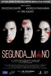 Segunda Mano Movie Online. As the film begins, we see Owen (Rico Blanco) and Mariella (Angelica Panganiban) are fighting in a car by a lake. It appears that Owen has left his wife to be with Mariella, and is angry ...