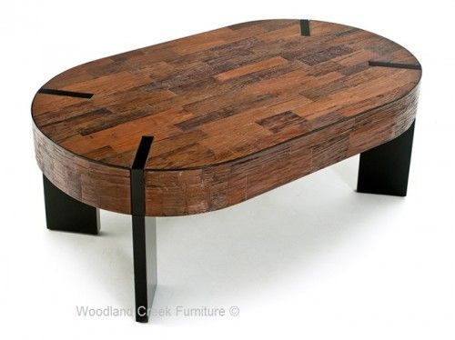 a rustic modern coffee table with a combination of modern and distressed wood a nice break from your everyday reclaimed coffee table