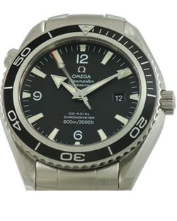 Omega Watches - Seamaster Planet Ocean 42 mm Stainless Steel box and papers — Watch Finder