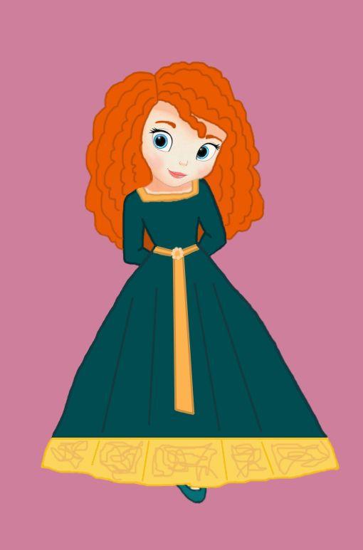 Little Disney Princess - Disney Leading Ladies Fan Art (30706124) - Fanpop fanclubs