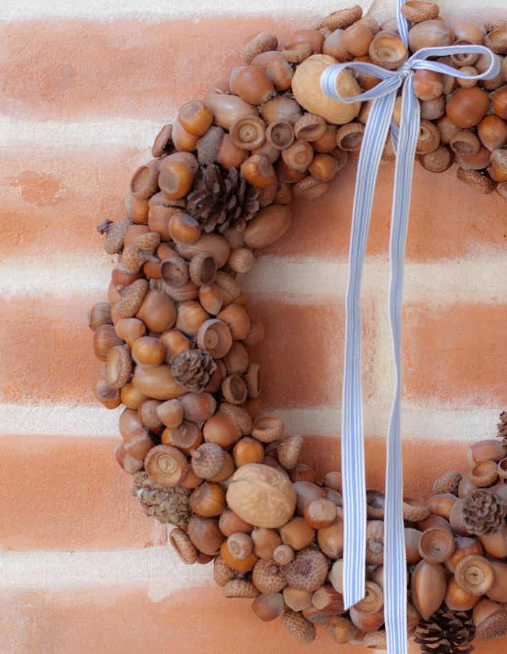 1000  images about nut wreaths on pinterest