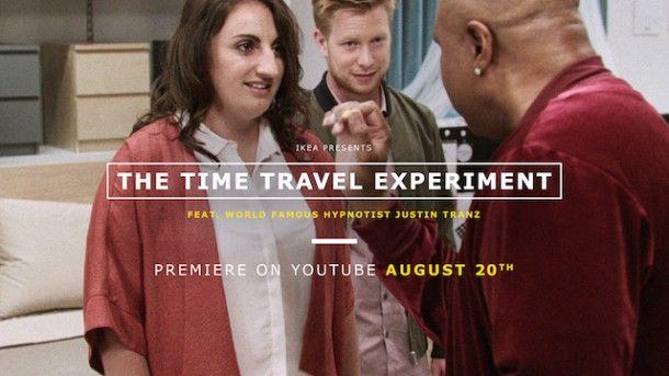 #ikeatimetravel IKEA fa viaggiare nel tempo nella sua ultima campagna video The Time Travel Experiment . Non si tratta di effetti speciali, ma dell'affascinante esperimento dell'ipnotizzatore di fama mondiale Justin Tranz. Giovani coppie cadono in trance... →